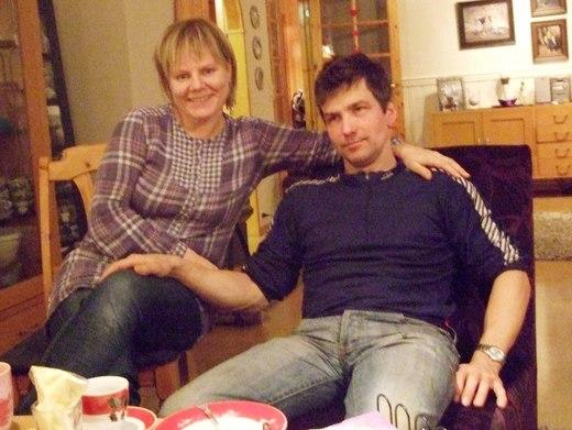 Rita og Asgeir Larsen