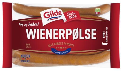Gilde Wienerpølse 520 g