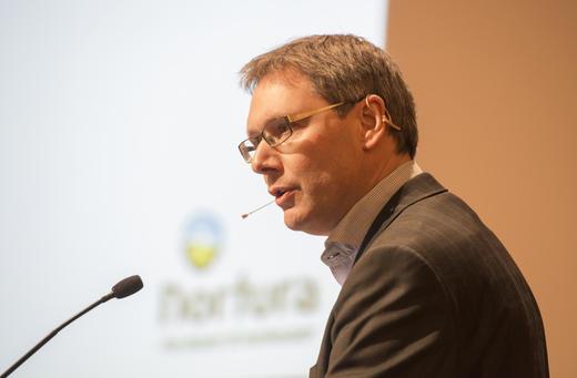 Nortura skal markedsføres tydeligere som bondens selskap. Det varslet konsernsjef Arne Kristian Kolberg på årsmøtet.