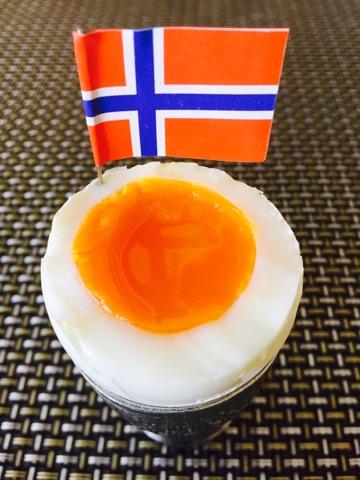 Kokt egg til 17. mai