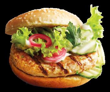 Med kyllingburgere på grillen er det lett å lage sunne middager i sommer