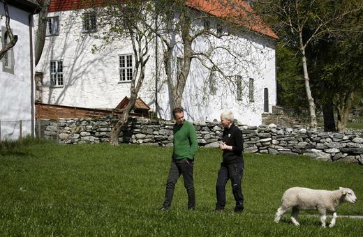 Klostergården åpner dørene for en lærevillig Viestad