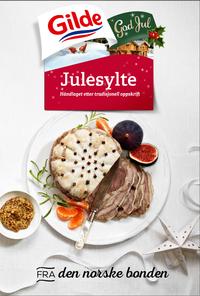 Fra forrige uke er Gilde tilstede på ulike reklameboards over hele landet. Med inspirerende matbilder gis det en påminnelse om at Gilde juleprodukter fra den norske bonden er i butikk.