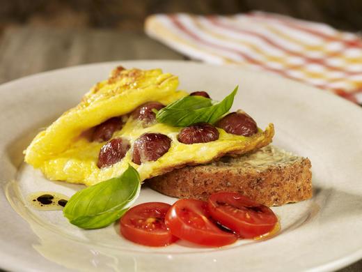 Deilig restemat med norske egg