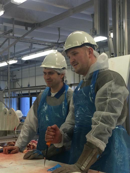 Jon Georg Dale og Christian Viken er fornøyd med innsatsen