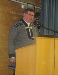 Ordfører i Karasjok, Svein Atle Somby