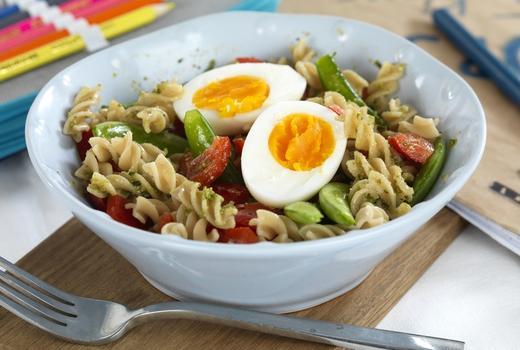 Fra et halvt til et helt egg gir både matglede og helse et lite puff. Foto: Opplysningskontoret for egg og kjøtt