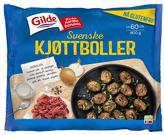 Gilde svenske kjøttboller