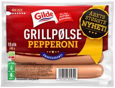 Gilde Grillpølse med Pepperoni