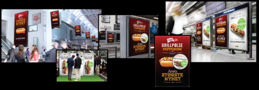 Reklame for kampanjen