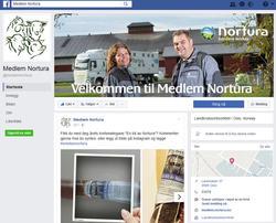 Medlem Nortura på facebook