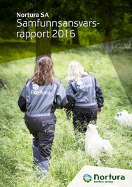 Nortura Samfunnsansvarsrapport 2016