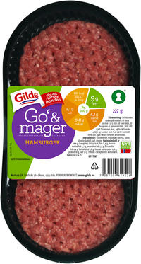 Gilde Go & Mager hamburger