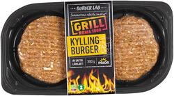 Burgerlab Prior Kyllingburger BBQ