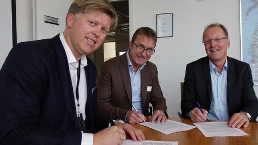 Fv. Rolf G. Fjeldheim, Ståle Gausen og Egil Olsvik