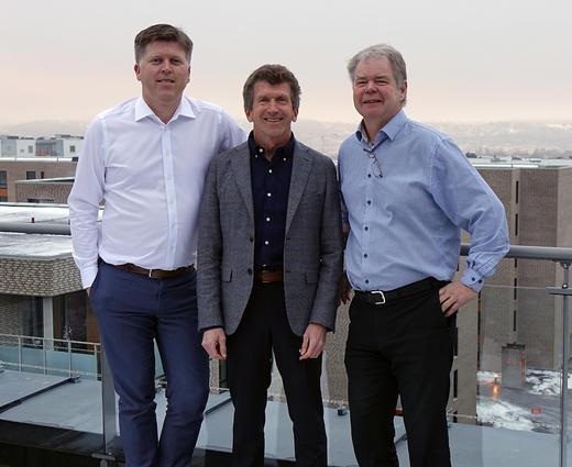 F.v. Rolf Gjermund Fjeldheim, Tor Arne Ruud og Bjørn-Ole Juul-Hansen.