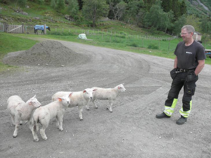 Hos Gunnar og Torill Lægreid, Eidfjord i Hardanger