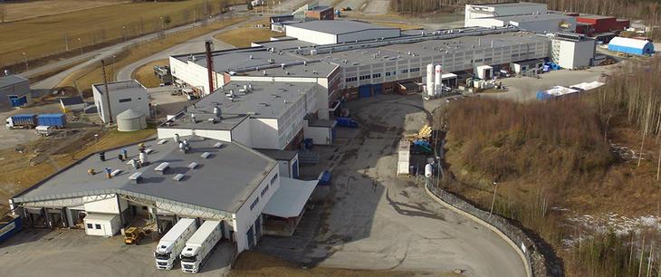Nortura Rudshøgda er en av fabrikkene som kan bli berørt av mangel på CO₂