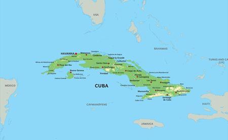 Kart Cuba