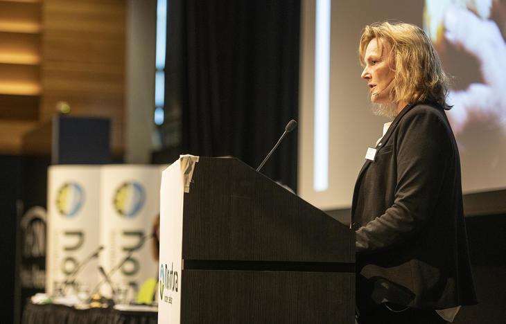 Styreleder Trine Hasvang Vaag (Foto: Håvard Simonsen)
