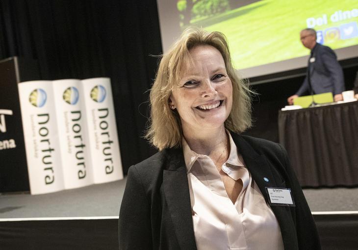 Trine Hasvang Vaag ble gjenvalgt som styreleder