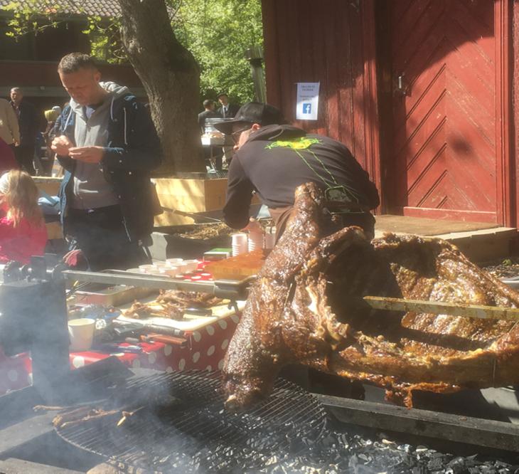 Grilling av geit