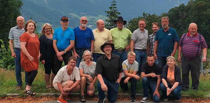 Nortura sin fagtur til Østerrike – Sveits – Italia 3.-12. juli