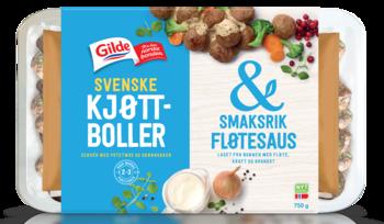 Gilde Svenske kjøttboller & fersk fløtesaus