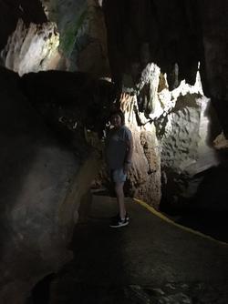 Grottebesøk