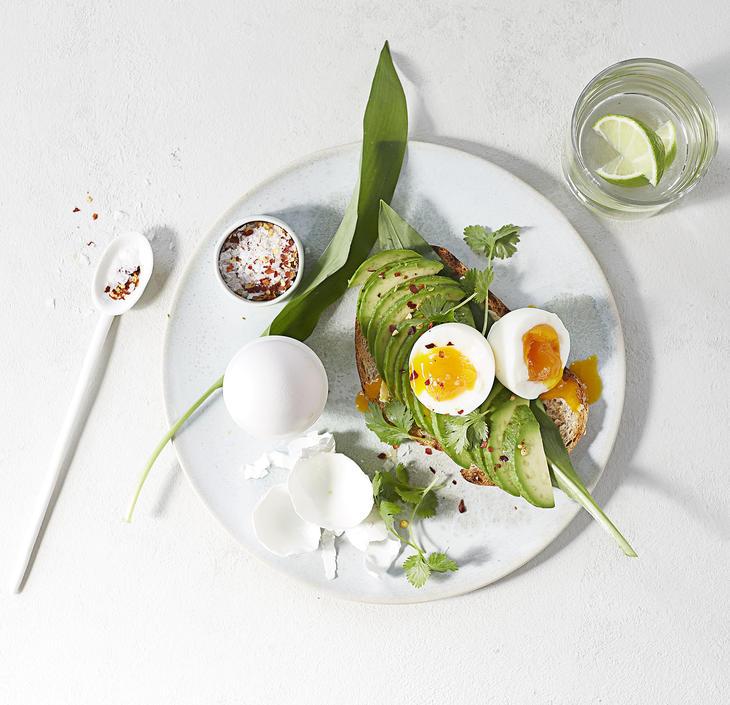 Kokt egg