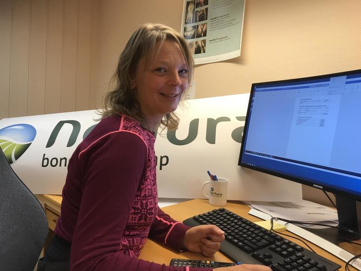 Laura Lundgaard er spesialveterinær i Nortura