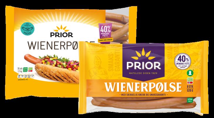 Prior Wiener med gammel og ny logo