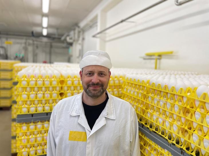 Thomas Ulseth, logistikksjef i Nortura