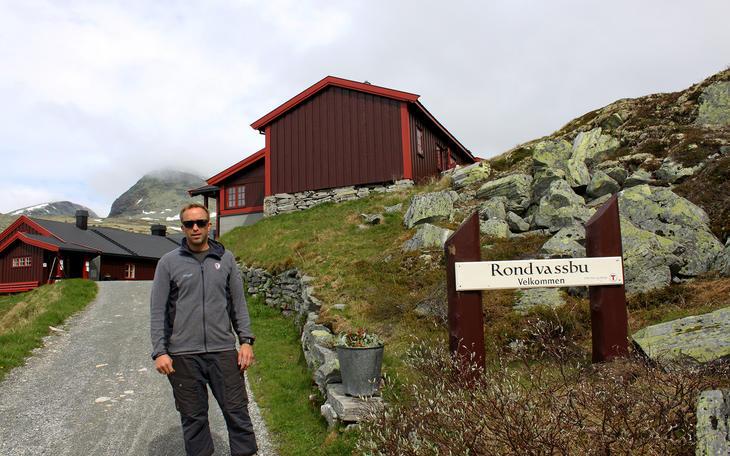 Øystein Gården på DNT Rondvassbu
