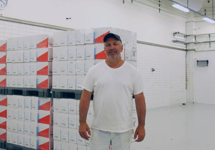 Fabrikksjef Svein Leirflaten