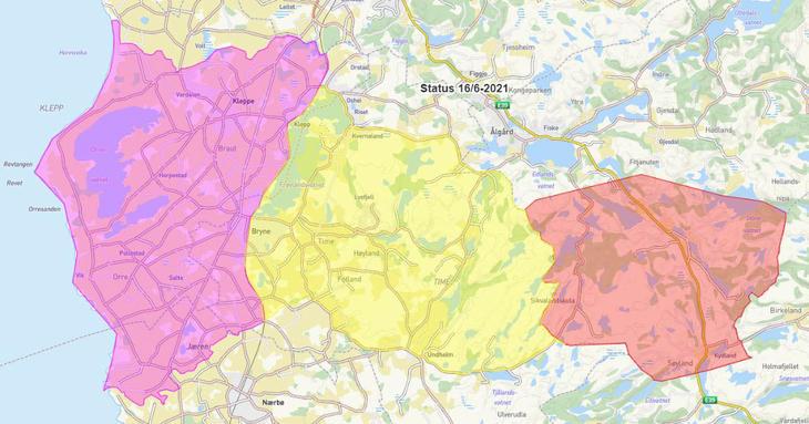 Lenke til kommunekart